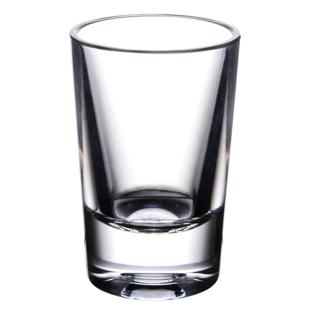 thunder group plthsg001cc 1 oz plastic shot glass. Black Bedroom Furniture Sets. Home Design Ideas