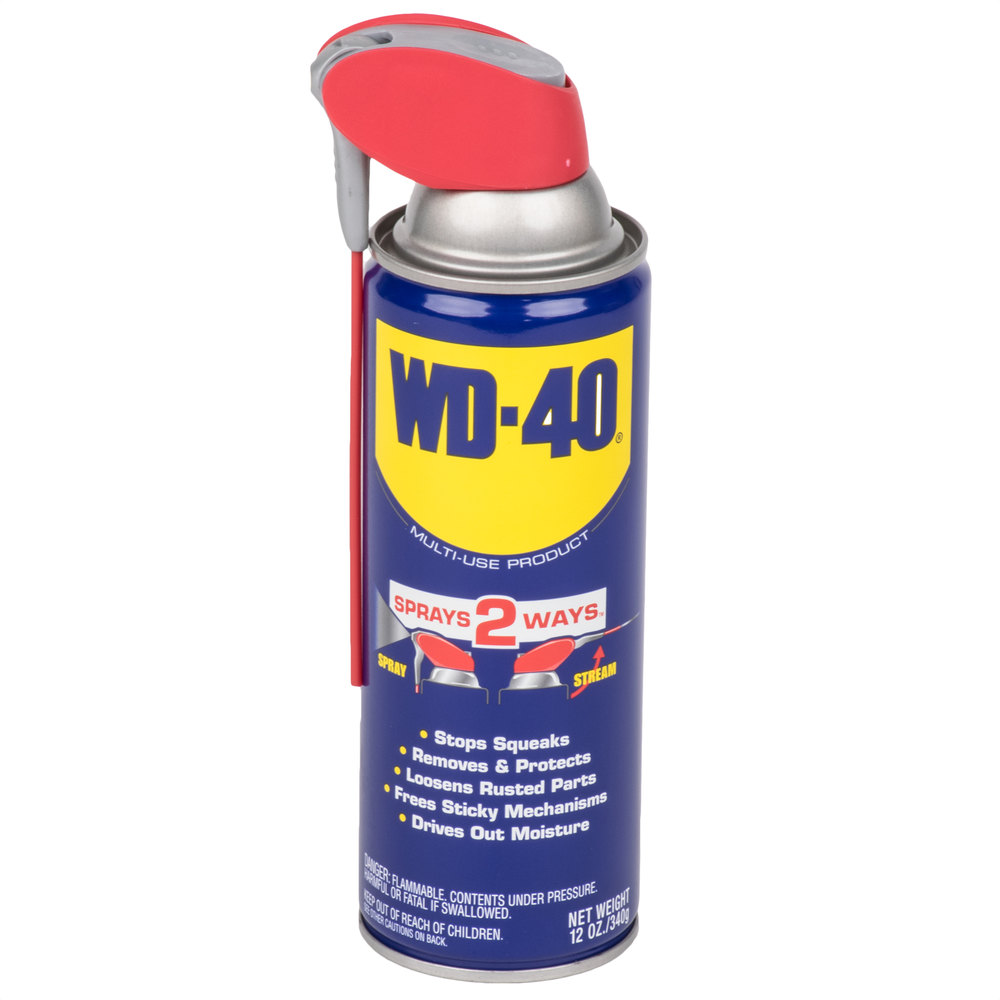 wd 40 490057 12 oz spray lubricant with smart straw. Black Bedroom Furniture Sets. Home Design Ideas