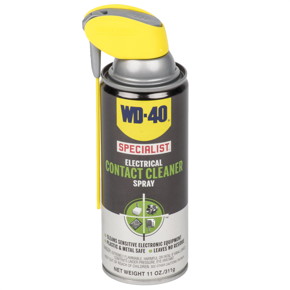 wd 40 300080 specialist 11 oz electrical contact cleaner spray 6 case. Black Bedroom Furniture Sets. Home Design Ideas