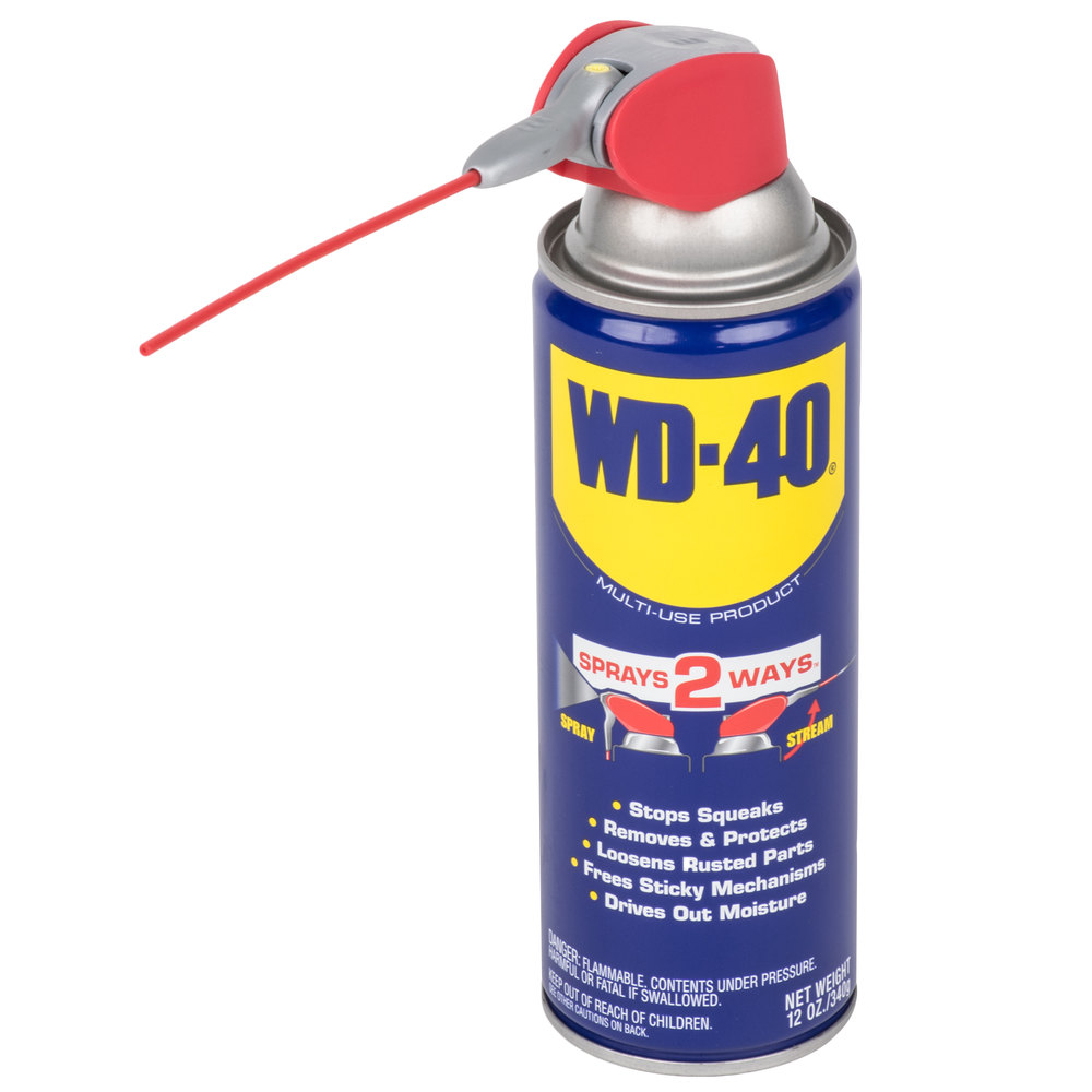 wd 40 12 oz spray lubricant with smart straw 12 case. Black Bedroom Furniture Sets. Home Design Ideas