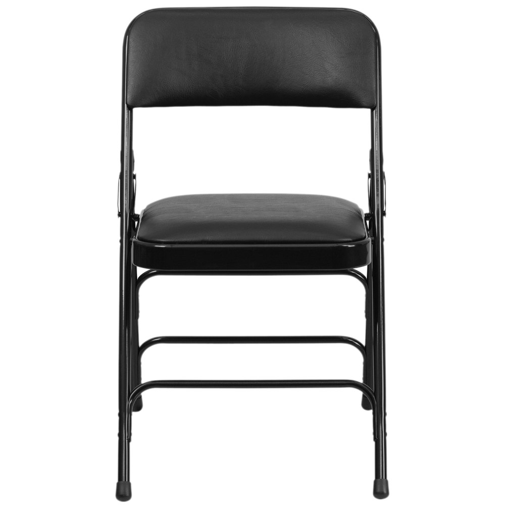 Black padded folding chairs - Main Picture Image Preview Image Preview Image Preview