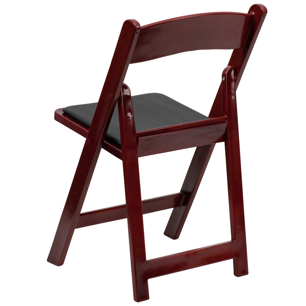 Black plastic folding chairs -  Mahogany Plastic Folding Chair Main Picture Image Preview Image Preview Image Preview