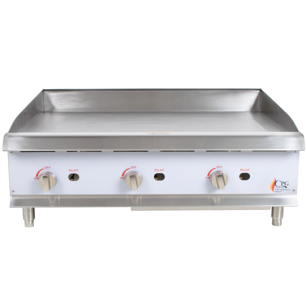 Commercial Gas Griddles & Flat Top Grills