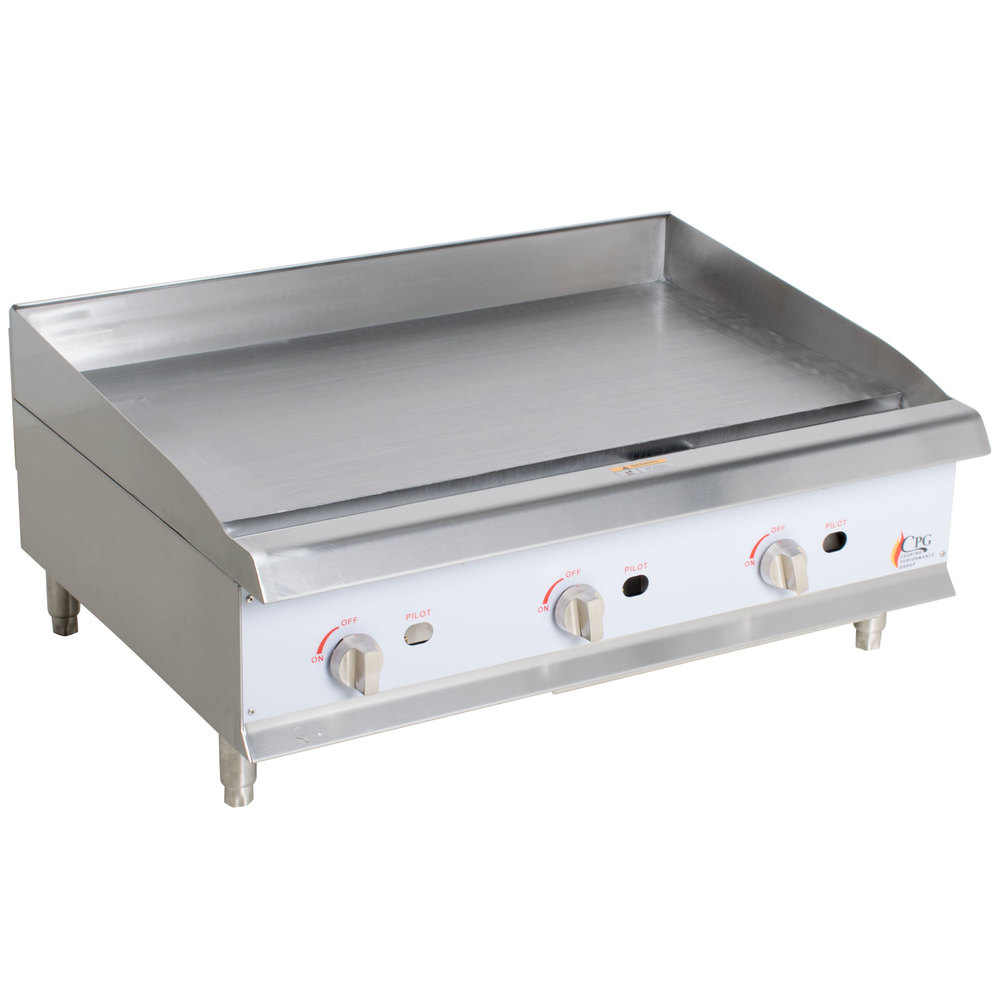 Countertop Gas Griddle : Cooking Performance Group G36 36