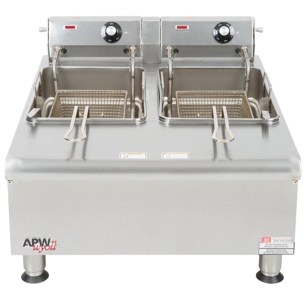 Electric Commercial Countertop Deep Fryer