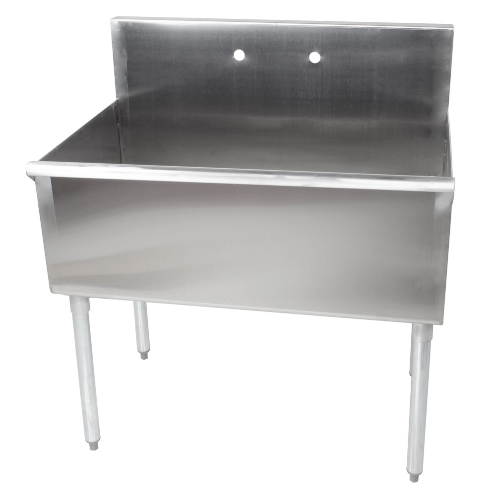 Regency 36 Quot 16 Gauge Stainless Steel One Compartment