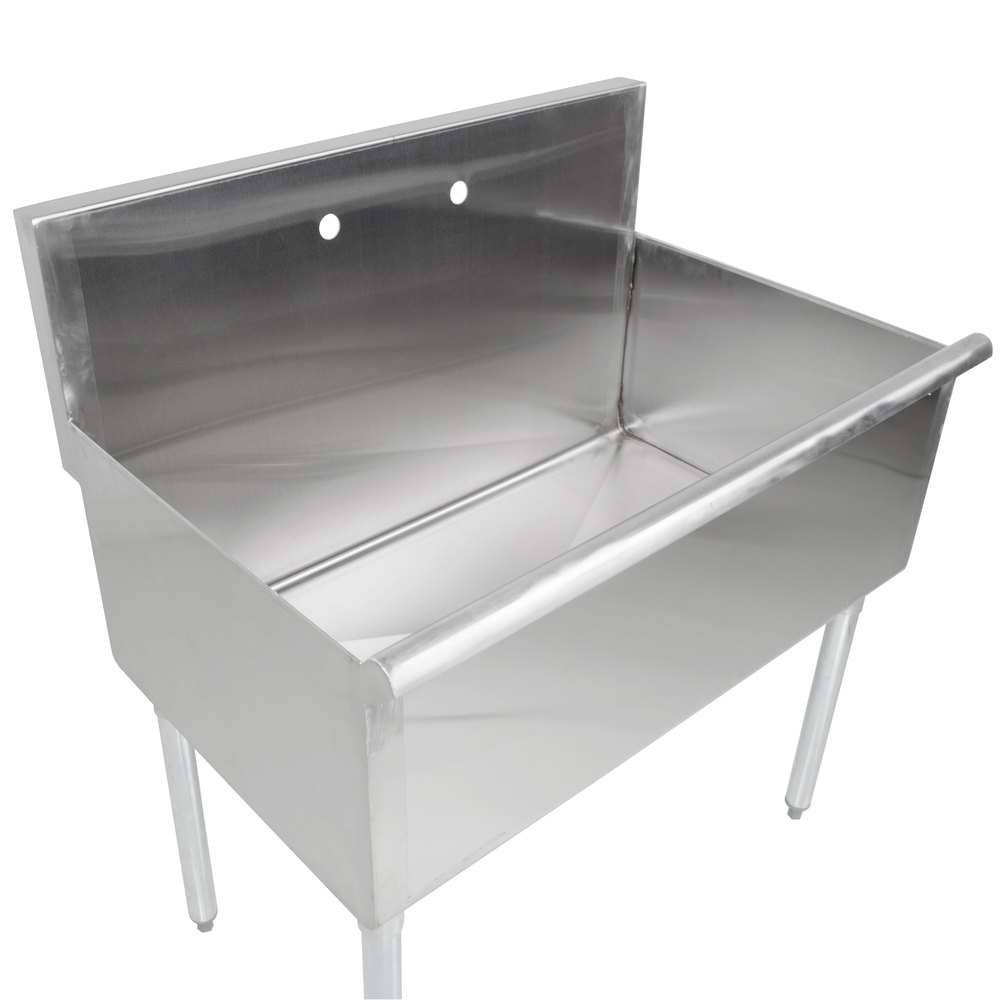 """Regency 36"""" 16gauge Stainless Steel One Compartment"""