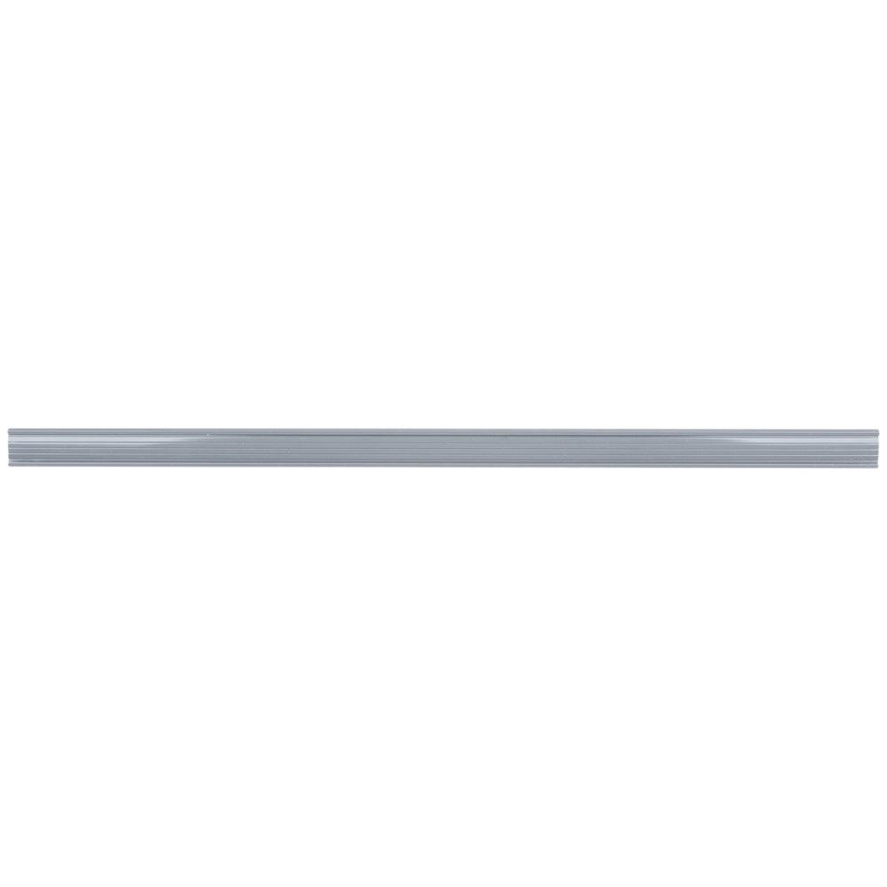 Regency 31 inch x 1 1/4 inch Gray Label Holder