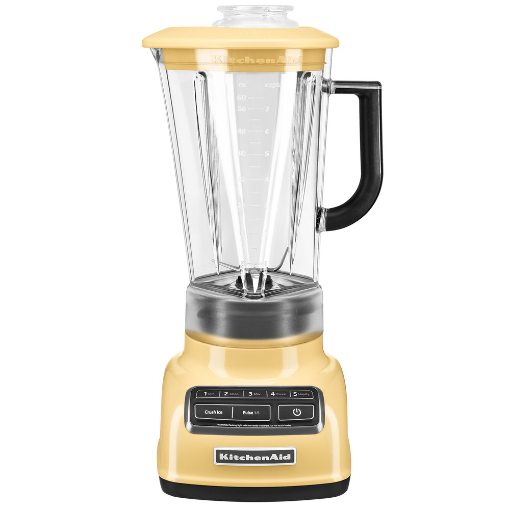 kitchenaid ksb1575my majestic yellow diamond 60 oz five speed blender
