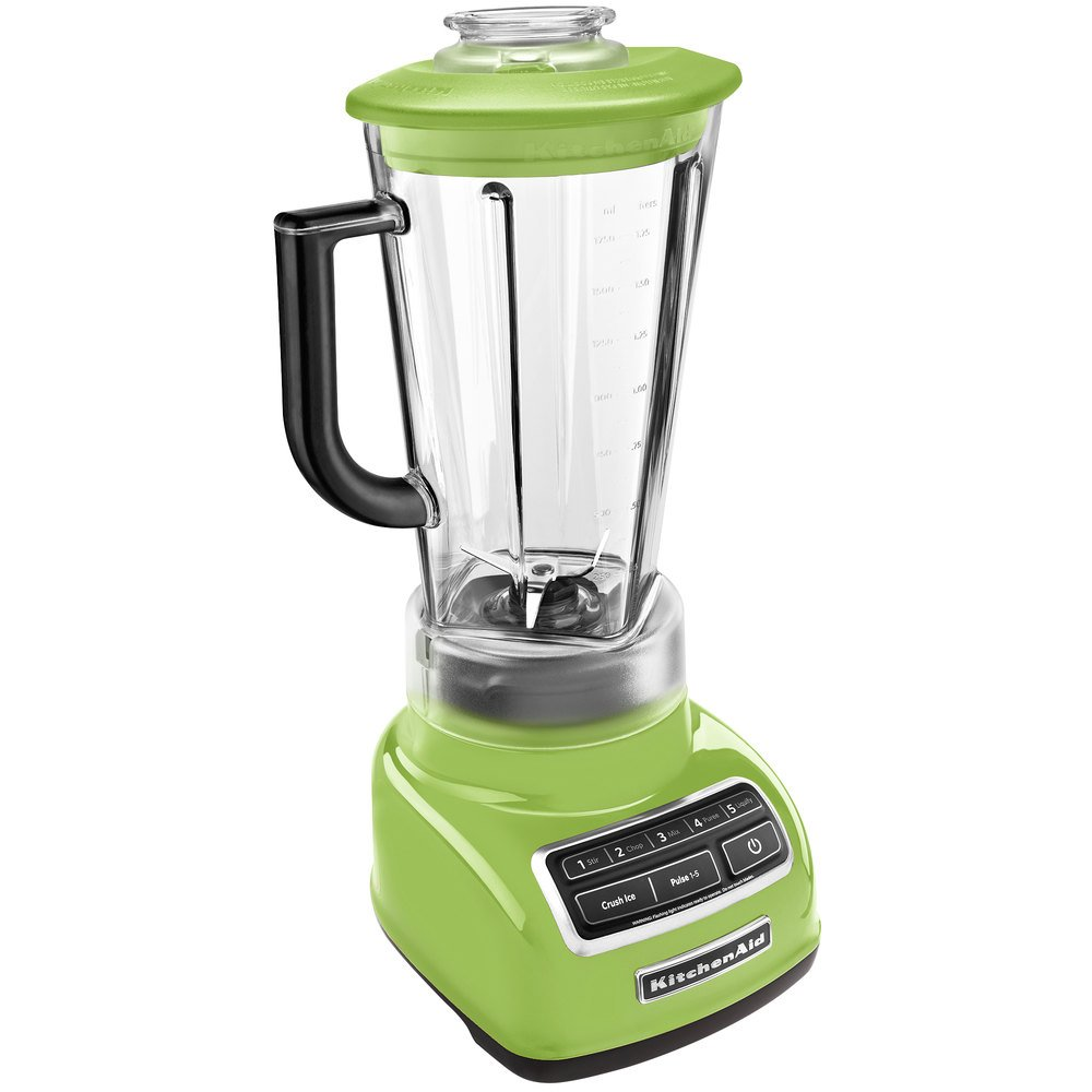 kitchenaid ksb1575ga green apple diamond 60 oz five speed blender