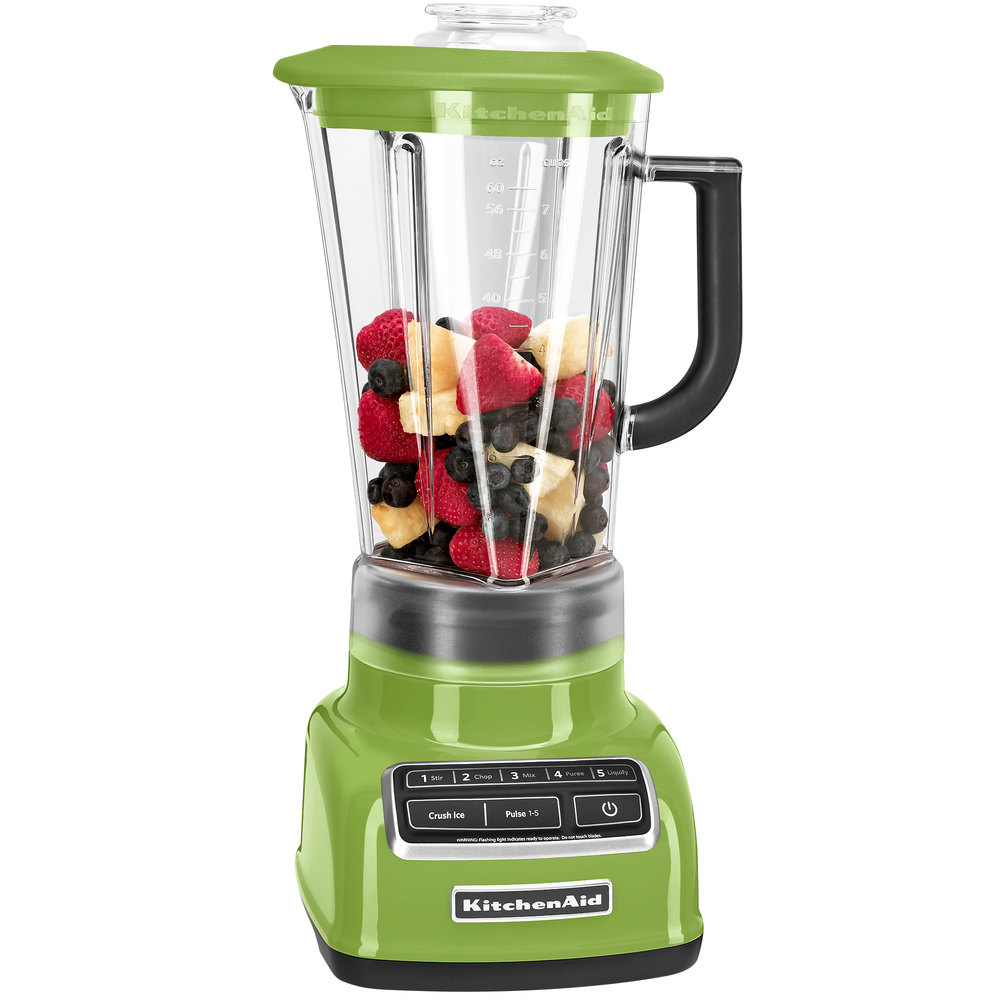 kitchenaid ksb1575ga green apple diamond 60 oz five speed. Black Bedroom Furniture Sets. Home Design Ideas