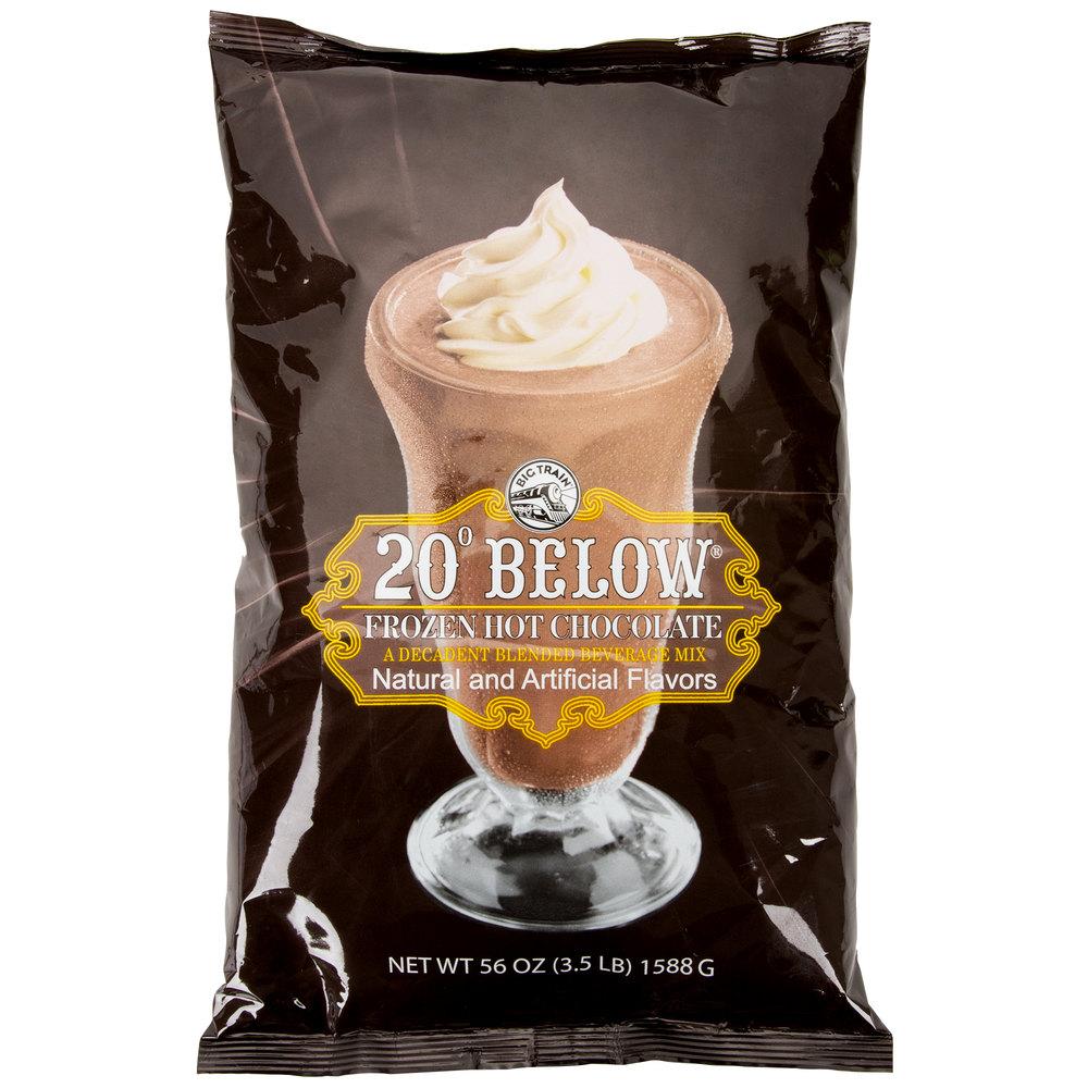Big Train 20 Below Frozen Hot Chocolate Mix - 3.5 lb.