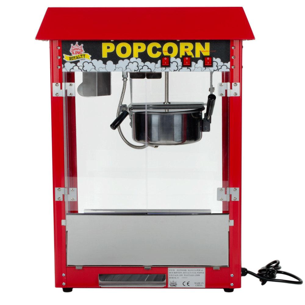 Carnival King Pm30r Royalty Series 8 Oz Red Popcorn
