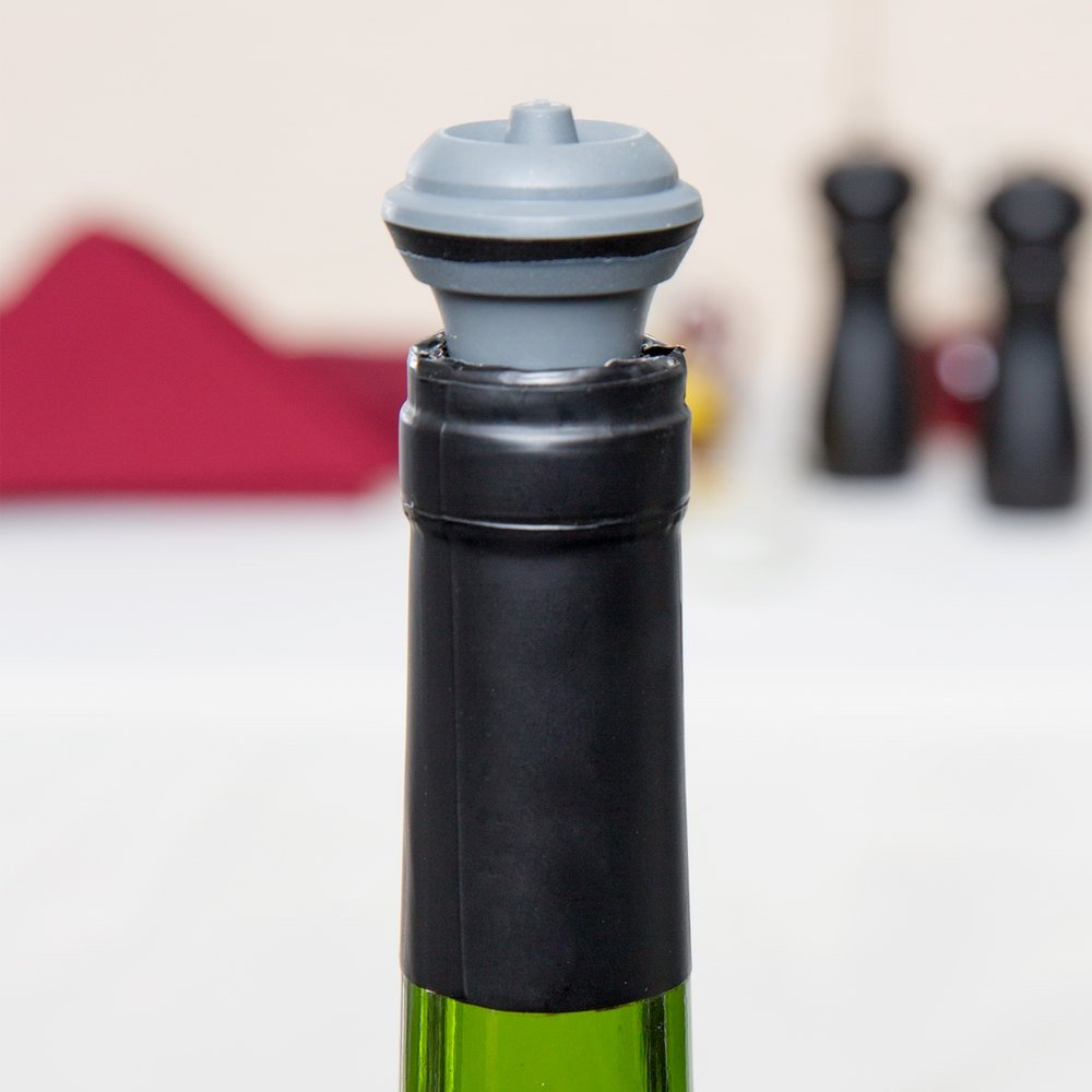 Vacu vin replacement wine stopper 2 pack for Wine cork replacement