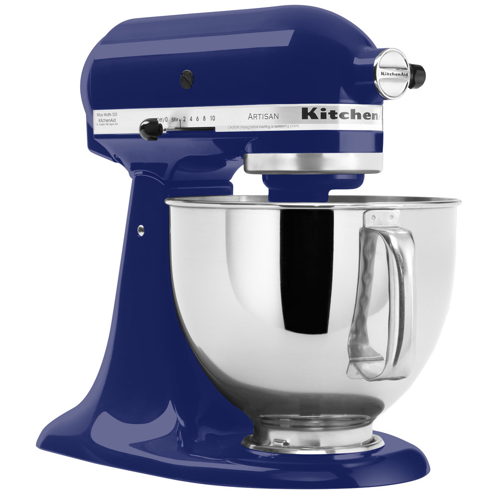 KitchenAid KSM150PSBU Cobalt Blue Artisan Series 5 Qt