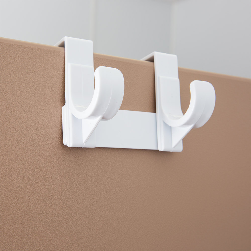 Over the door t leg white ironing board holder hanger