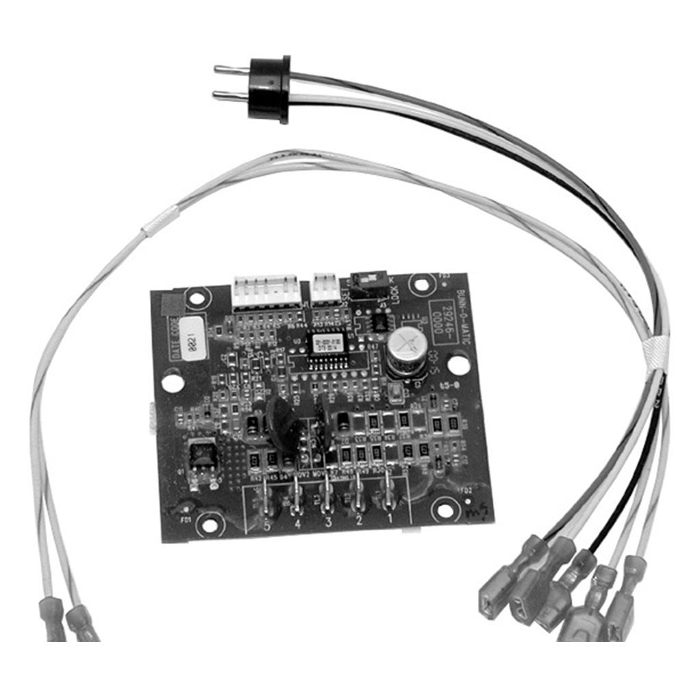 bunn equivalent digital timer board with wiring. Black Bedroom Furniture Sets. Home Design Ideas