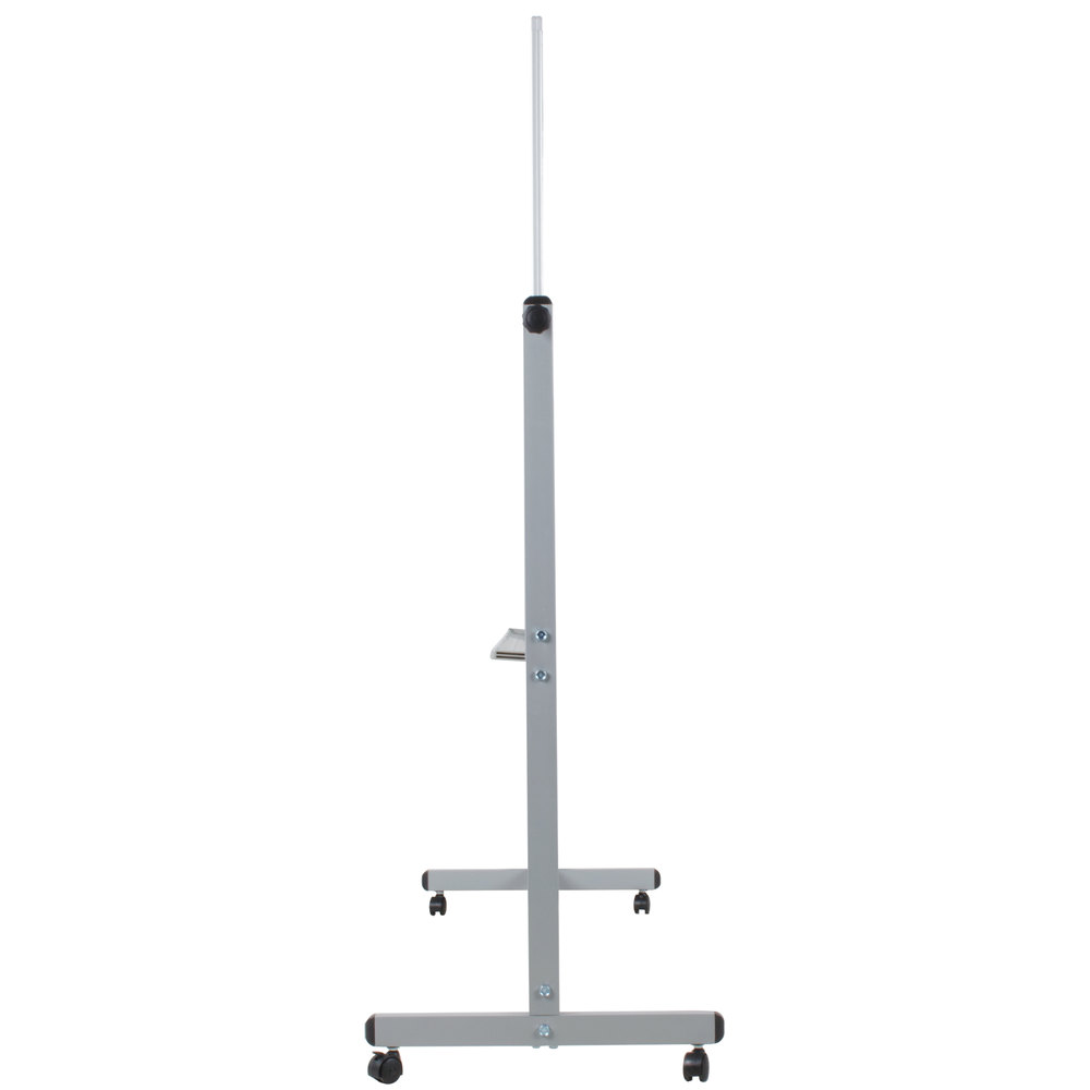 Luxor Mb4836ww  Double Sided Magnetic Whiteboard And Stand