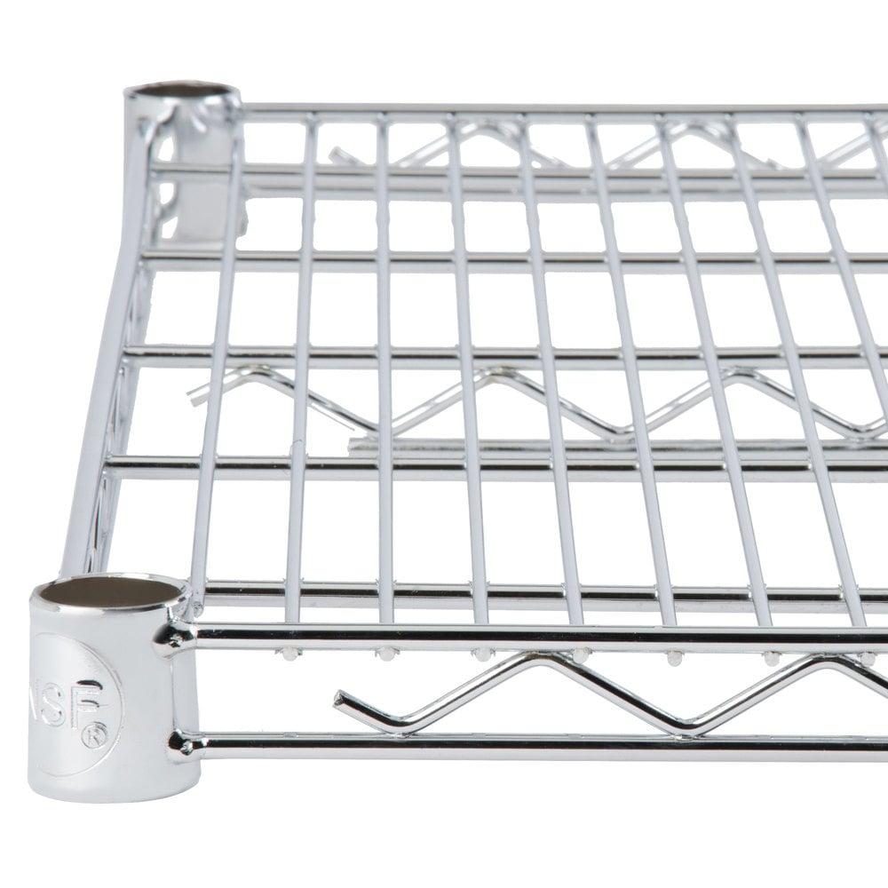 Regency 18 inch x 30 inch NSF Chrome Wire Shelf
