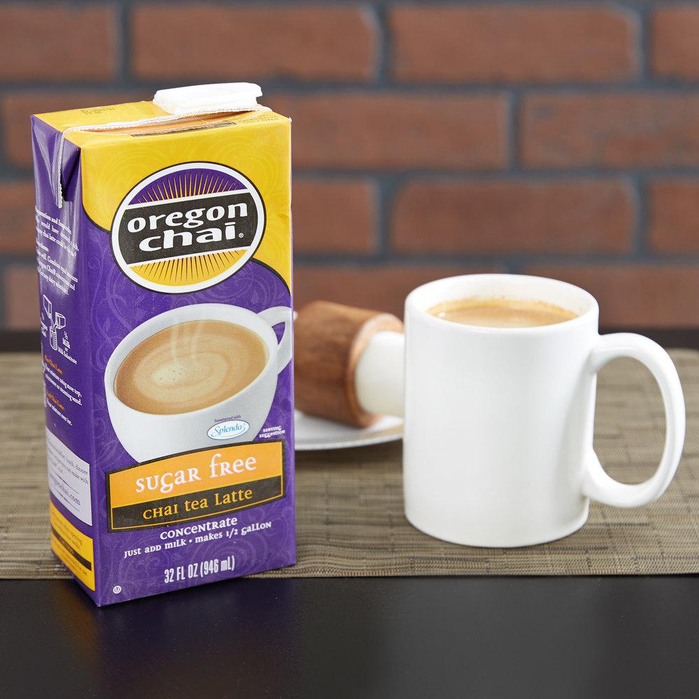 Sugar Free Oregon Chai Tea Latte Concentrate