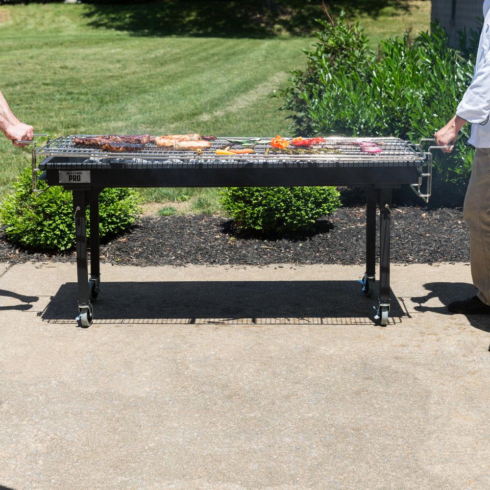 """Backyard Pro CHAR60 60"""" Heavy-Duty Steel Charcoal Grill ..."""