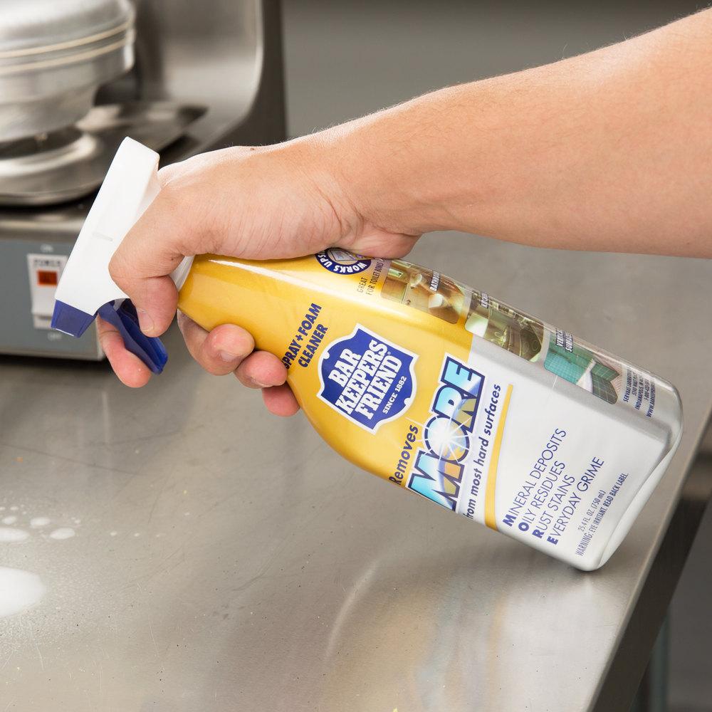Bar Keepers Friend 11727 25 Oz All Purpose Spray Foam Cleaner
