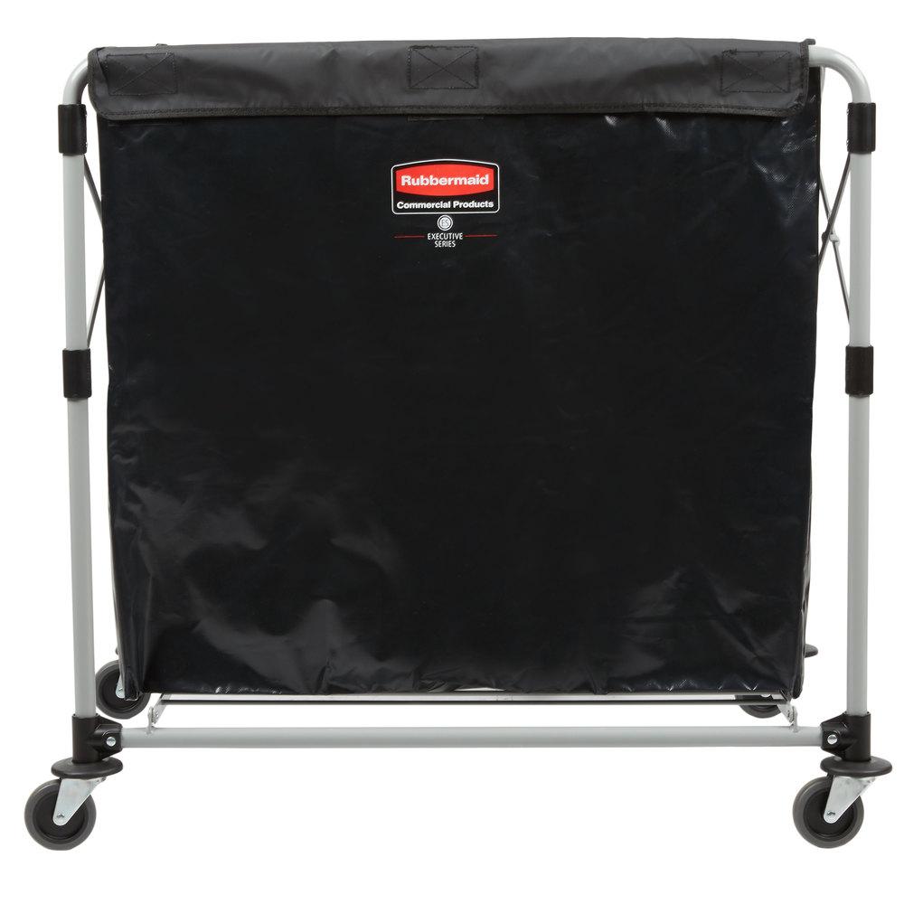 Rubbermaid Laundry Cart 8 Bushel Collapsible X Cart 1881750