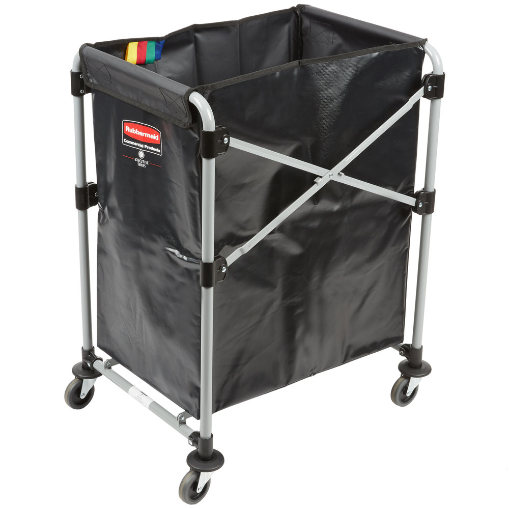 Rubbermaid 1881749 Laundry Cart
