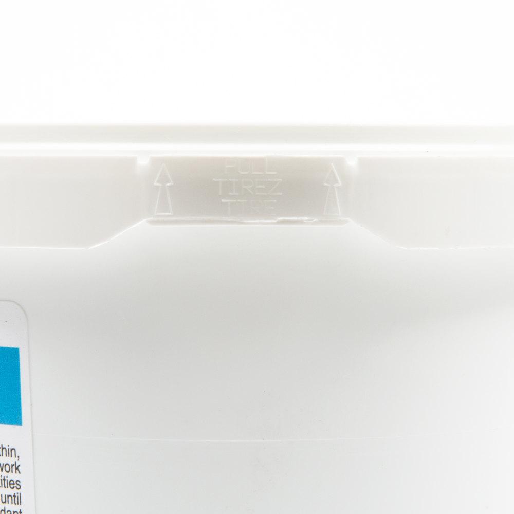 Ateco S10014 2 lb. Container Satin Ice Blue Vanilla Rolled Fondant ...