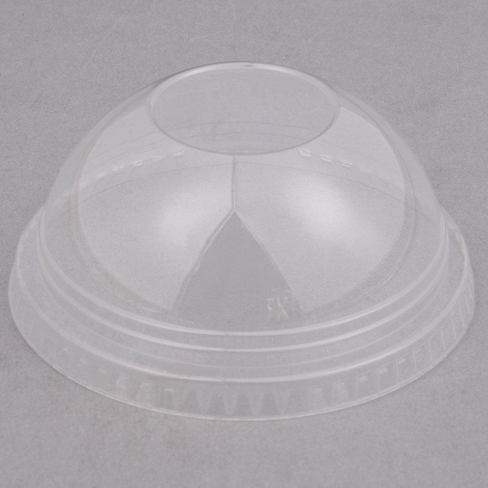 fabri kal dlkc12 20nh 12 oz clear pet plastic dome lid no. Black Bedroom Furniture Sets. Home Design Ideas