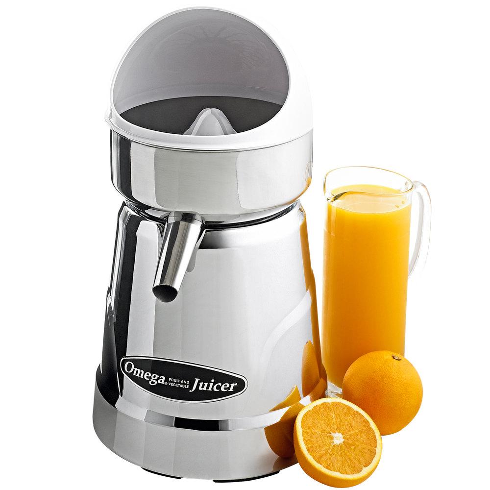 Juicers Omega C 10W Professional Citrus Juicer White