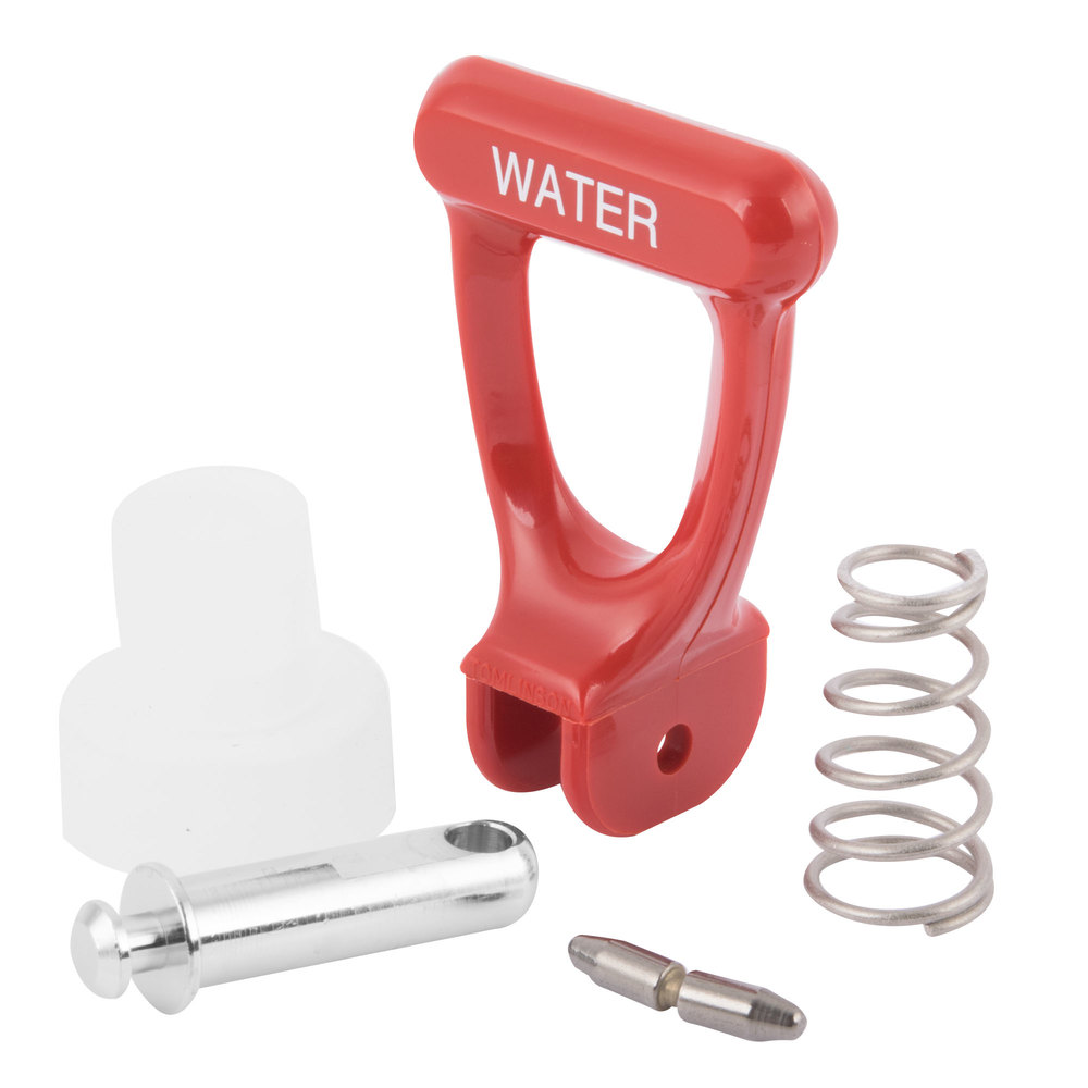 Bunn 28708.0000 Faucet Repair Kit With Red Handle For Coffee Urns U0026 Hot  Water Dispensers ...