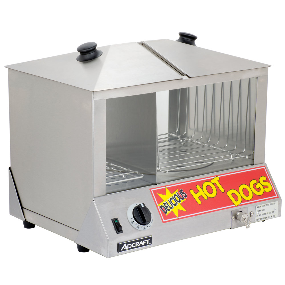 hot dog steamer 1200w main picture image preview image preview - Hot Dog Warmer