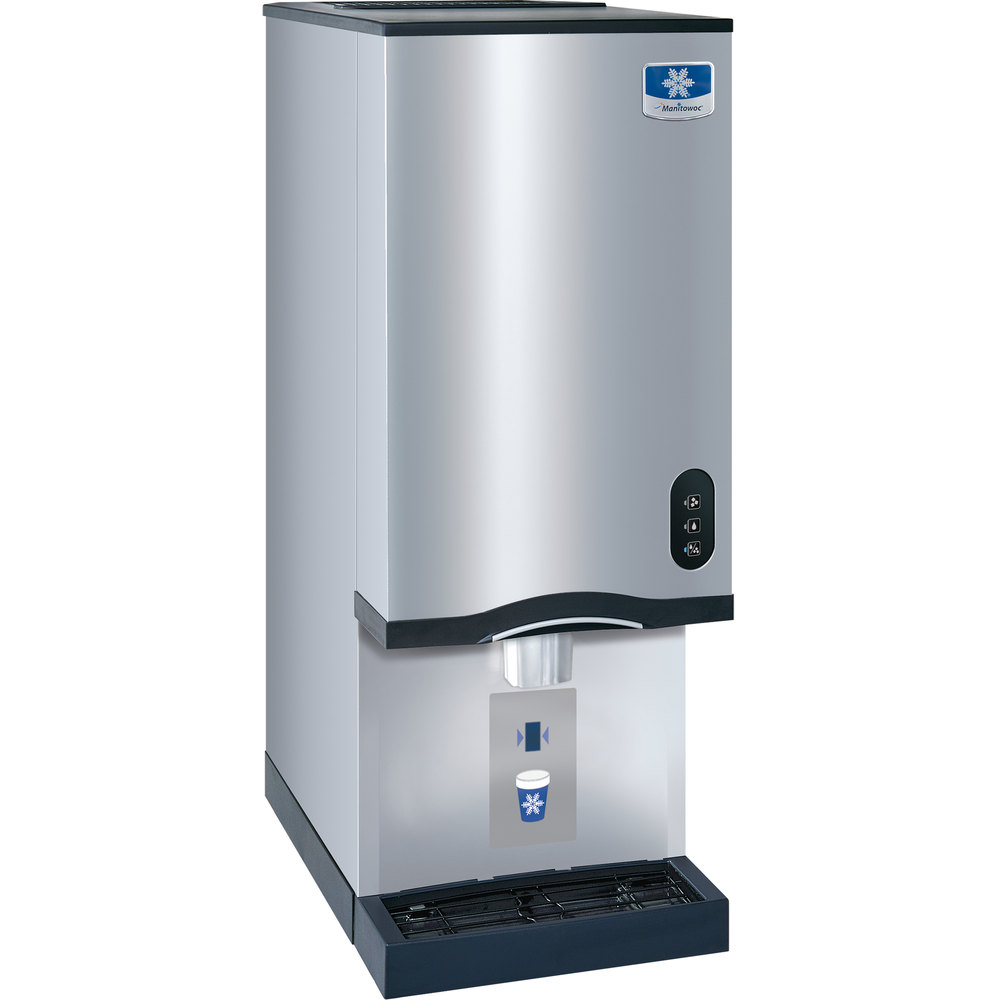 Manitowoc RNS 20AT Air Cooled Countertop Ice Maker And Water Dispenser   20  Lb.