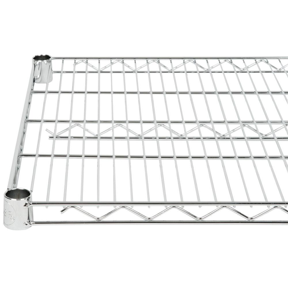 Regency 21 inch x 48 inch NSF Chrome Wire Shelf