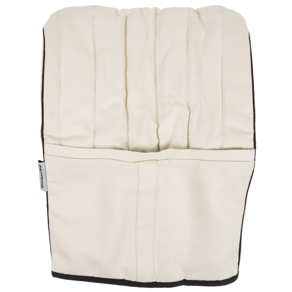 Kitchenaid Kmcc1kb Khaki Quilted Cover For Kitchenaid