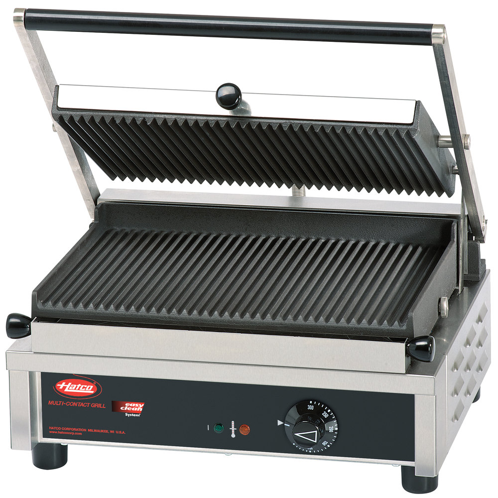 hatco mcg14g multi contact panini sandwich grill with. Black Bedroom Furniture Sets. Home Design Ideas
