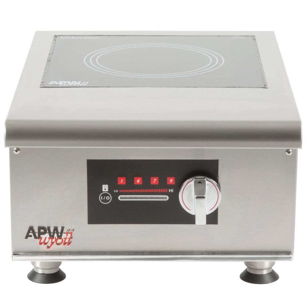 Apw Wyott Ihp 1 Workline Single Hob Countertop Hot Plate Induction Range 3500w