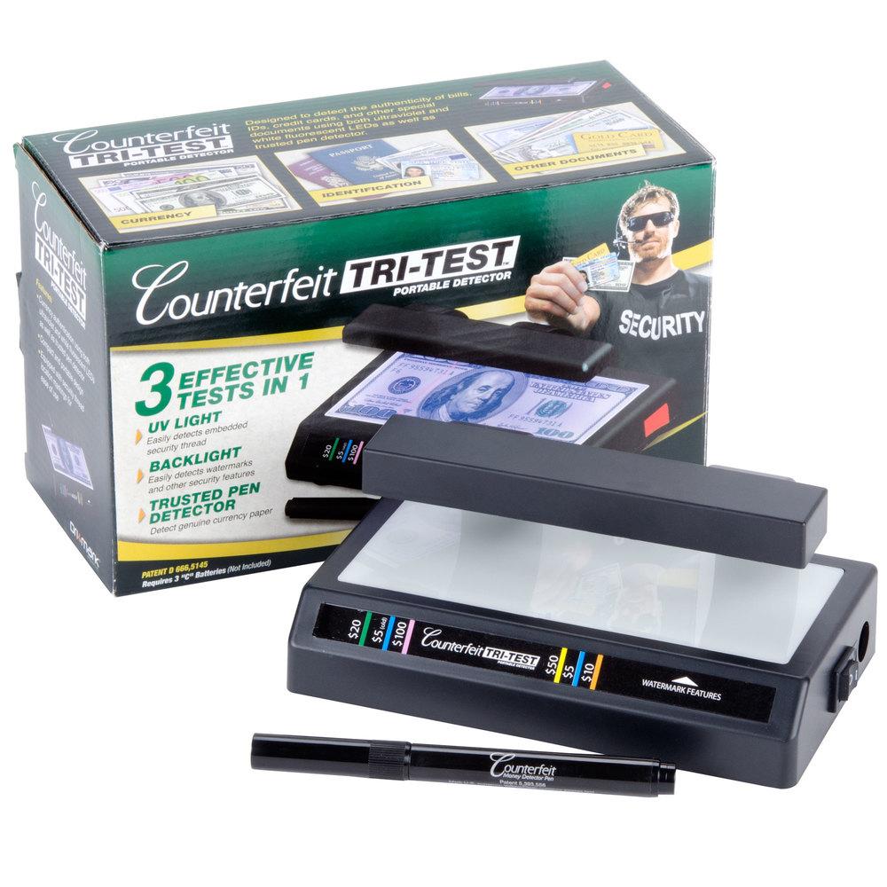 dri mark 351tri 3 in 1 counterfeit bill detector with uv. Black Bedroom Furniture Sets. Home Design Ideas