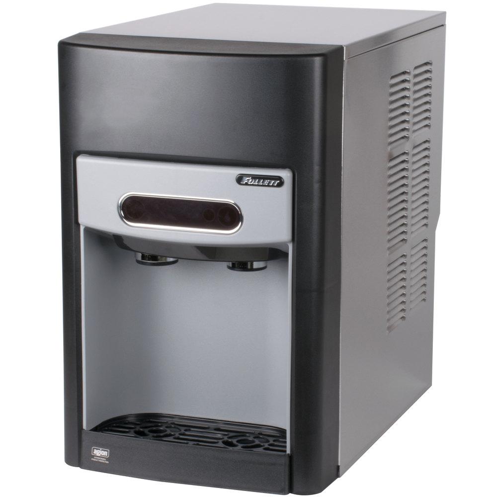 Countertop Ice Maker Water Dispenser : ... Air Cooled Countertop Ice Maker and Water Dispenser - 15 lb. Storage