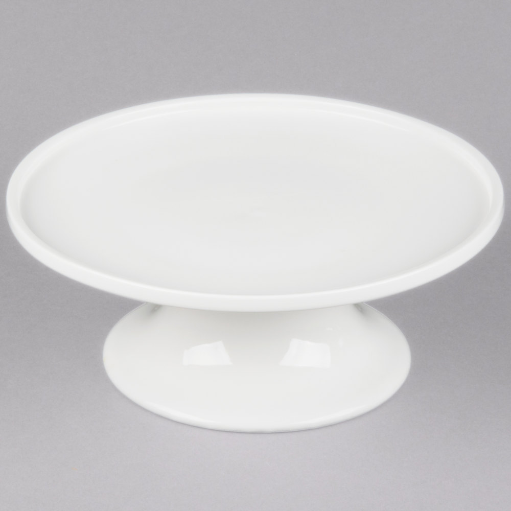 American Metalcraft Prestige PSP8 8 inch Porcelain Serving Stand ... & Cake Stands | Pie Stands | Cake and Pie Displays | WebstaurantStore