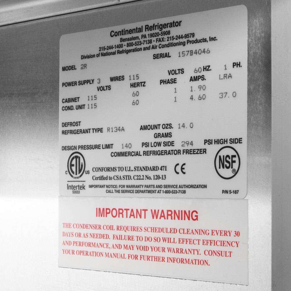 Continental refrigerator 2r 52 solid door reach in refrigerator image preview swarovskicordoba Gallery