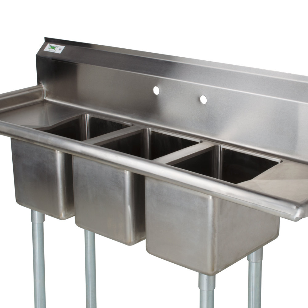 Commercial Triple Sink : Regency 79