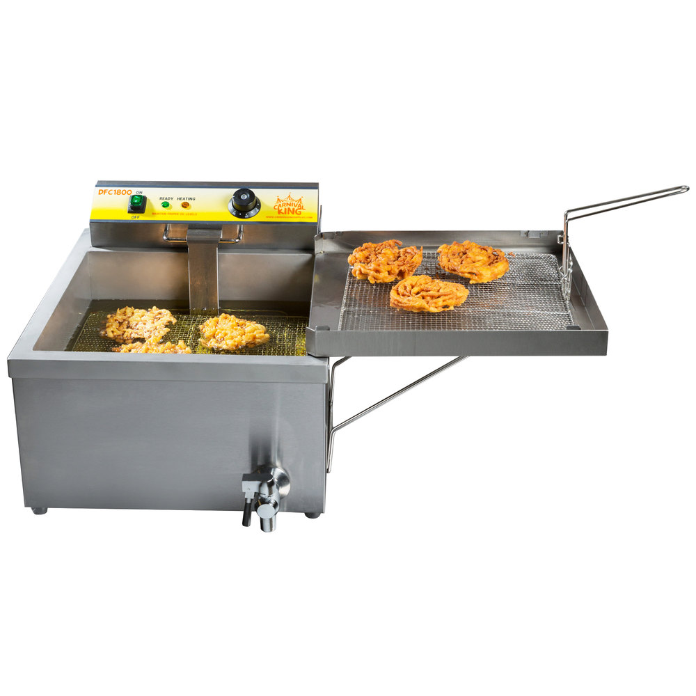 Used Electric Funnel Cake Fryer