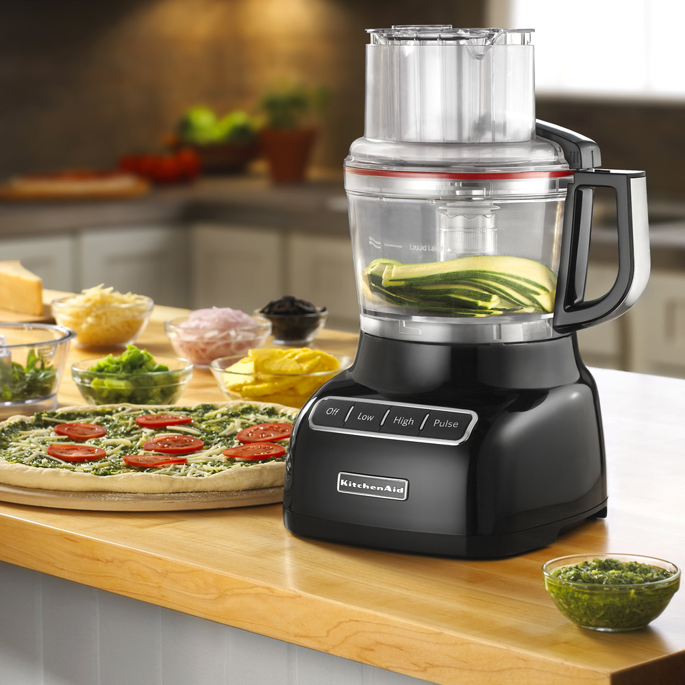KitchenAid KFP0922OB Onyx Black 9 Cup Food Processor. Main Picture; Image  Preview; Image Preview; Image Preview; Image Preview; Image