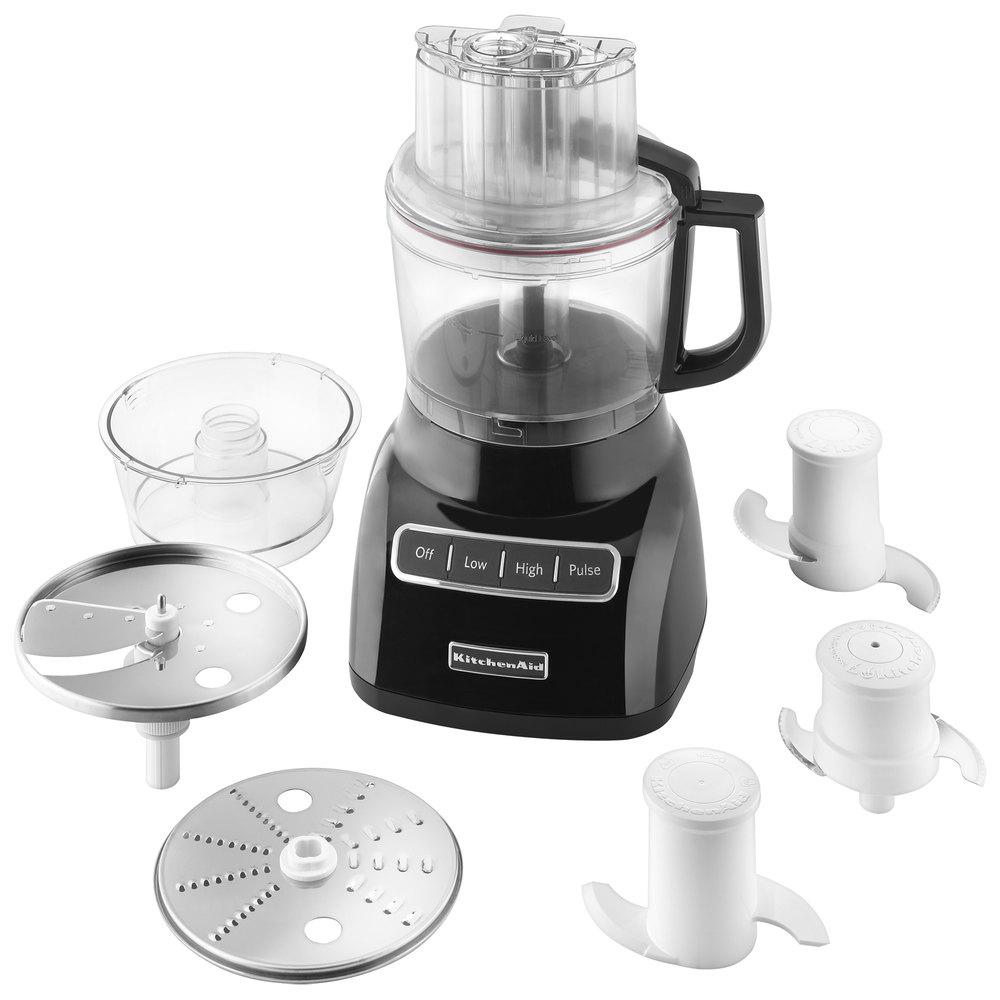 Kitchenaid Kfp0922ob Onyx Black 9 Cup Food Processor