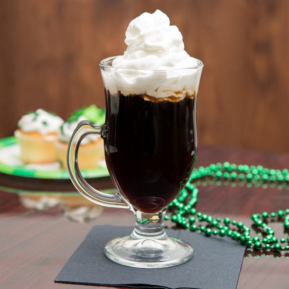 Core 8 oz irish coffee mug 12 per case irish coffee glasses - Bilder cappuccino ...