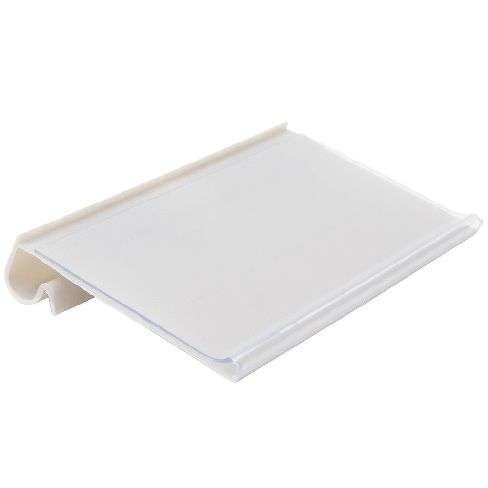 Regency 3 inch x 1 9/16 inch Shelf Label Holder