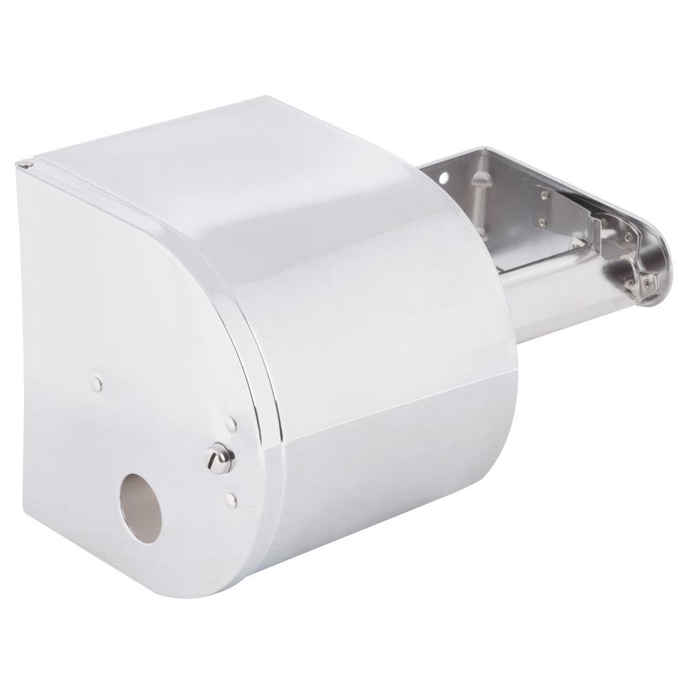 Continental 876c Double Toilet Tissue Dispenser 4 Chrome