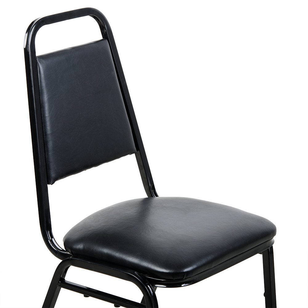 Black plastic chair -  Image Preview